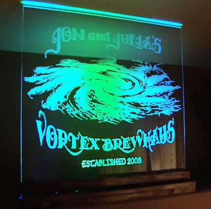 Sandblasted Glass Amp Mirror Signs Mirrors For Bar